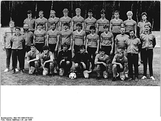 Bischofswerdaer FV 08 - The 1985–86 DDR-Liga championship-winning team