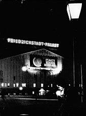 Friedrichstadt Palast Wikipedia