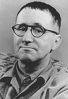 Porträt Bertolt Brecht.