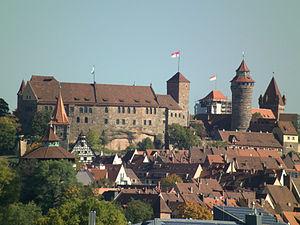 Burgraviate of Nuremberg - Nuremberg Imperial Castle