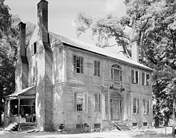 Burnside plantation Vance County North Carolina by Frances Benjamin Johnston 1938.jpg