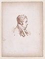 Bust of a man in profile, facing right Met DP890237.jpg