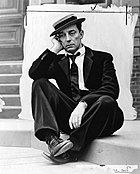 Buster Keaton in costume