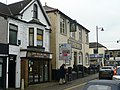 Butcher's shop and Irish pub, Caerphilly - geograph.org.uk - 1144341.jpg