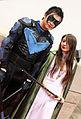 C2E2 2013 - Nightwing and Talia (8691046578).jpg