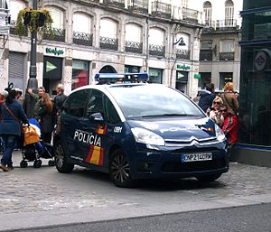 National Police Corps - Image: C4 Picasso Policia in Madrid