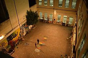 Escuela Superior de Comercio Carlos Pellegrini - The internal patio.