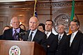 CA Gov. Jerry Brown discussing the state's drought crisis (12511478433).jpg