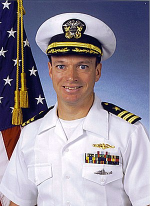 USS San Francisco (SSN-711) - Commander Kevin Mooney