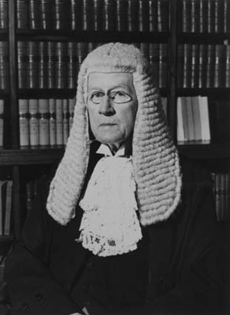John Latham (judge) - Latham as Chief Justice in 1945