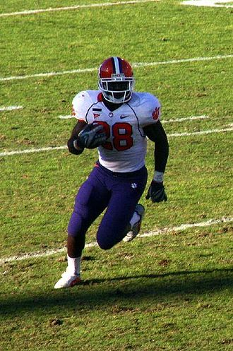 2009 College Football All-America Team - Image: CJ Spiller cropped