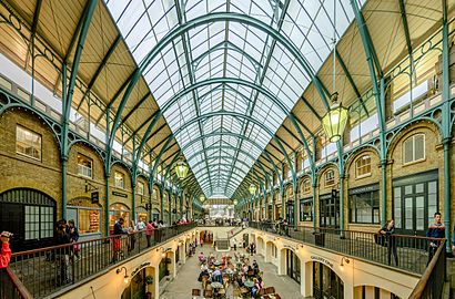 How to get to Covent Garden with public transport- About the place