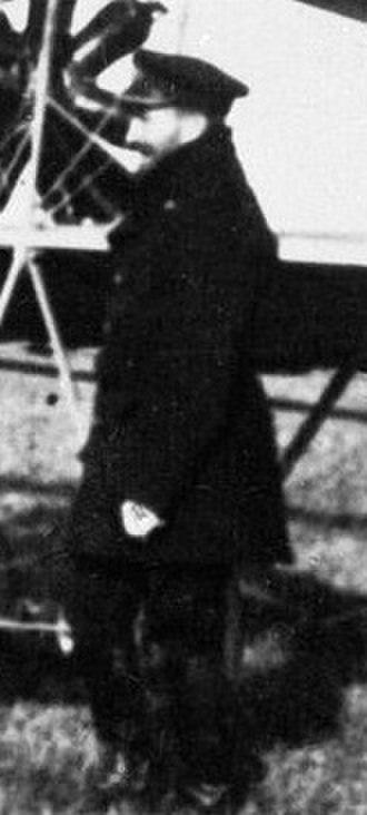 Charles Rumney Samson - Samson alongside an aircraft in May 1914