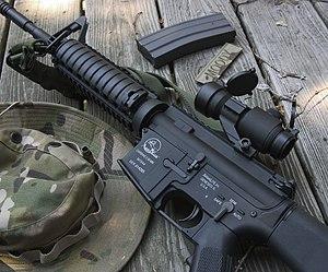 Airsoft gun - Image: Ca m 15a 4