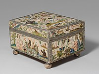 Cabinet with personifications of the Five Senses MET DP153004 (background cropped).jpg
