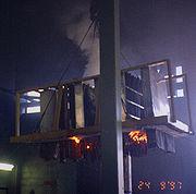 Caj8073 up after burn b4 hose