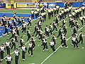 Cal Band performing pregame at EWU at Cal 2009-09-12 2.JPG