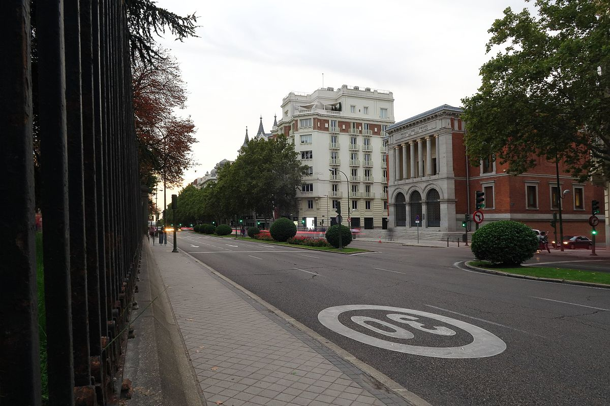 Calle de alfonso xii wikipedia la enciclopedia libre for Calle prado 8 madrid