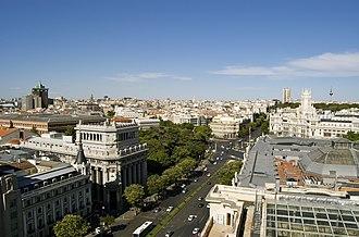 Madrid - Alcalá street