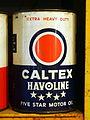 Caltex Havoline can.JPG