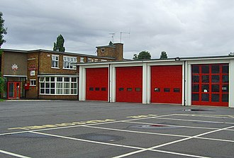 Humberside Fire and Rescue Service - Image: Calvert Lane Fire Station, Hull geograph.org.uk 889665