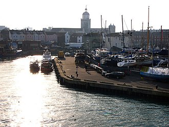 Portsmouth Harbour - The historic Camber Dock and Camber Quay, February 2008