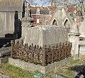 Cambrai - Cimetière de la Porte Notre-Dame, sépulture remarquable n° 12, Louis Dislaire, tombe remarquable (01).JPG