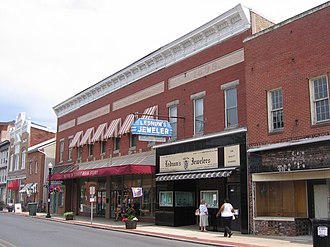 Cambridge, Maryland - Poplar Street, Downtown Cambridge