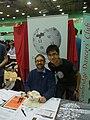 Cambridge fresher's fair Wikipedia stall 2012 - 3.jpg