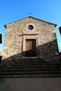 Church Santi Biagio e Donato, Camigliano, hamlet of Montalcino