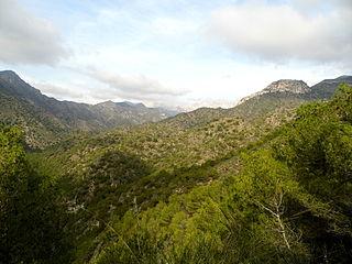 Sierras of Tejeda, Almijara and Alhama Natural Park