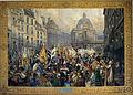 Campagne de 1805 transfert des drapeaux du Sénat au Luxembourg en1806 3085.JPG
