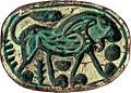 Canaanite - Scarab with Walking Lion Design - Walters 4236 - Bottom.jpg