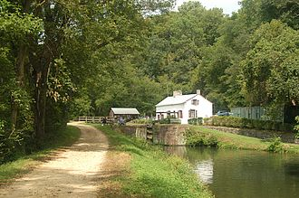 Towpath - A towpath on the Chesapeake and Ohio Canal.