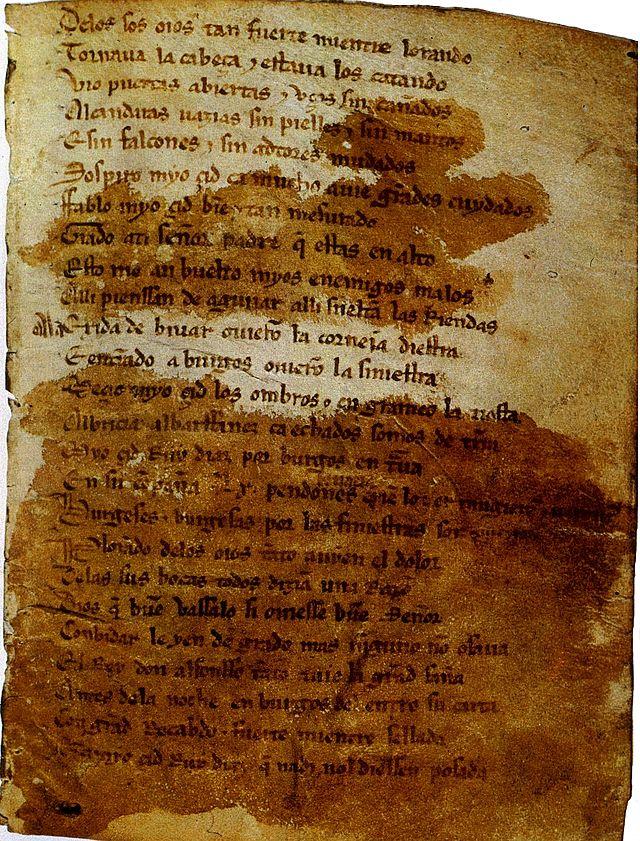 Cantar De Mio Cid Wikiwand