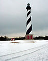 Cape Hatteras Lighthouse in snow.jpg
