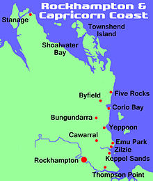Rockhampton & capricorn coast
