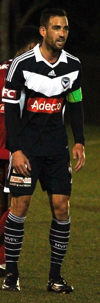 Carl Valeri - Valeri with Melbourne Victory in 2014