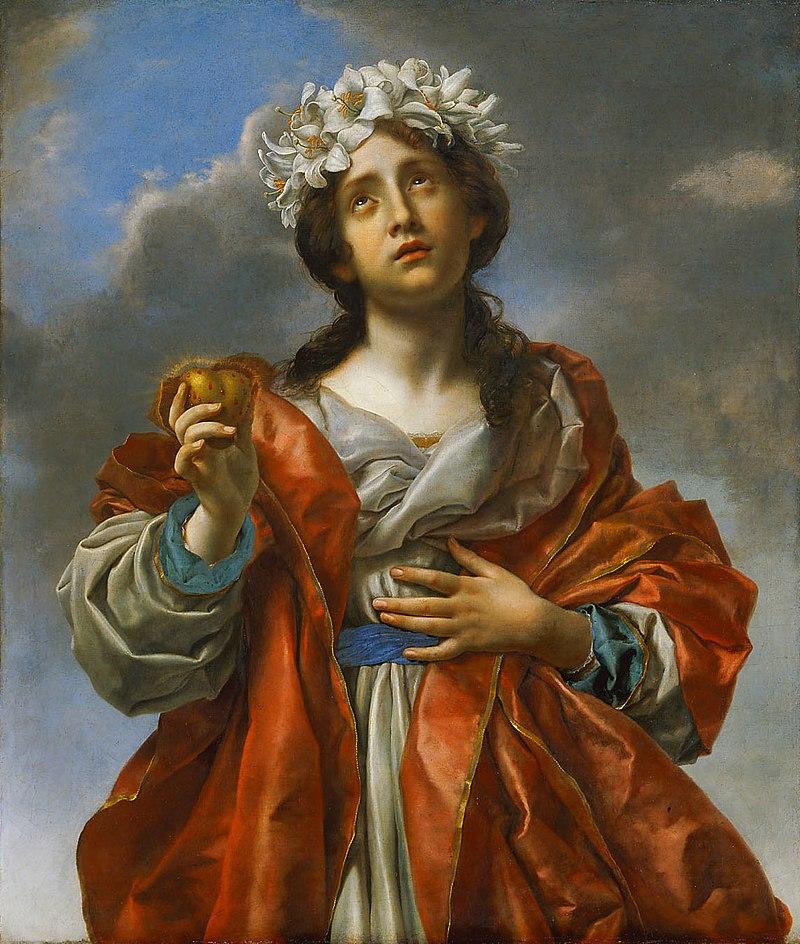 Карло Дольчи - Allegorie der Aufrichtigkeit - GG 184 - Kunsthistorisches Museum.jpg