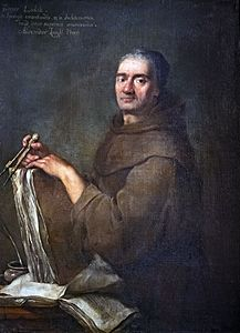 Portrait of Carlo Lodoli by Alessandro Longhi