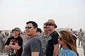 Carlos Mencia, Kid Rock and Jessie James visit the deployed 31st Air Defense Artillery Brigade.jpg