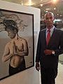 Carlos grant en la exposicion generaciones 2014.jpg