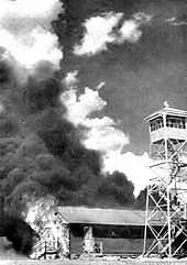 Errant Bats From The Experimental Bat Set Fire To Carlsbad Army Airfield Auxiliary Air Base In New Mexico