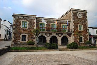 Portomarín municipality of Spain