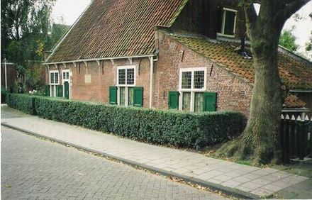 Spinoza's house in Rijnsburg from 1661 to 1663, now a museum Casa espinoza.jpg