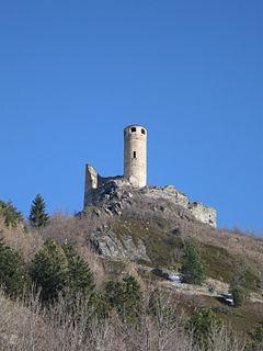 """building in """"La Salle, Aosta Valley"""", Italy"""