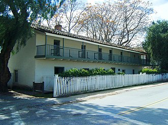 National Register of Historic Places listings in San Benito County, California - Image: Castro Adobe