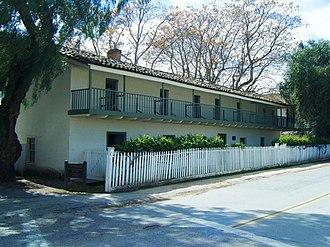 California Historical Landmarks in San Benito County, California - Image: Castro Adobe
