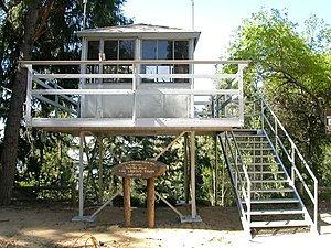 Henninger Flats - Castro Peak fire tower