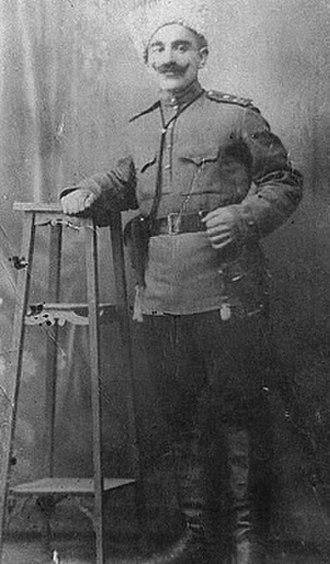 Caucasus Greeks - Caucasus Greek officer from Mouzarat (now Çakırüzüm köyü), Ardahan district, former Russian south Caucasus province of Kars Oblast